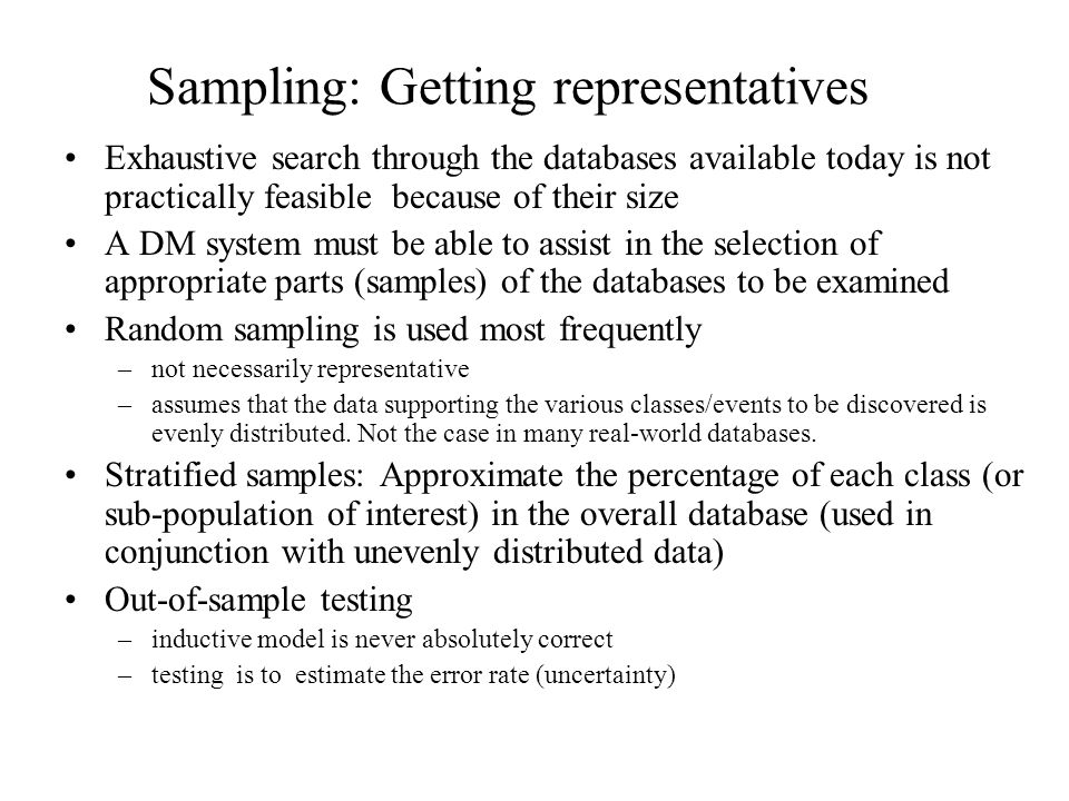 Data Mining Operations and Techniques: Predictive Modelling : –Based on the features present in the class_labeled training data, develop a description or model for each class.