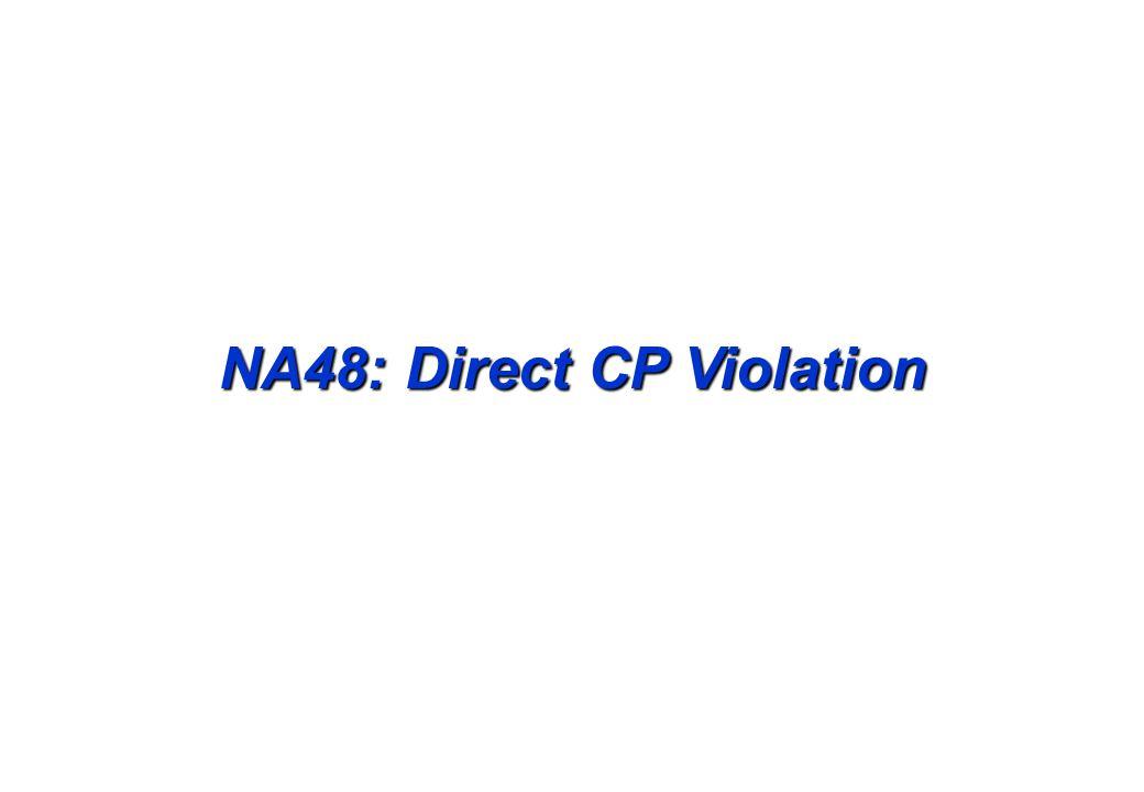 NA48: Direct CP Violation