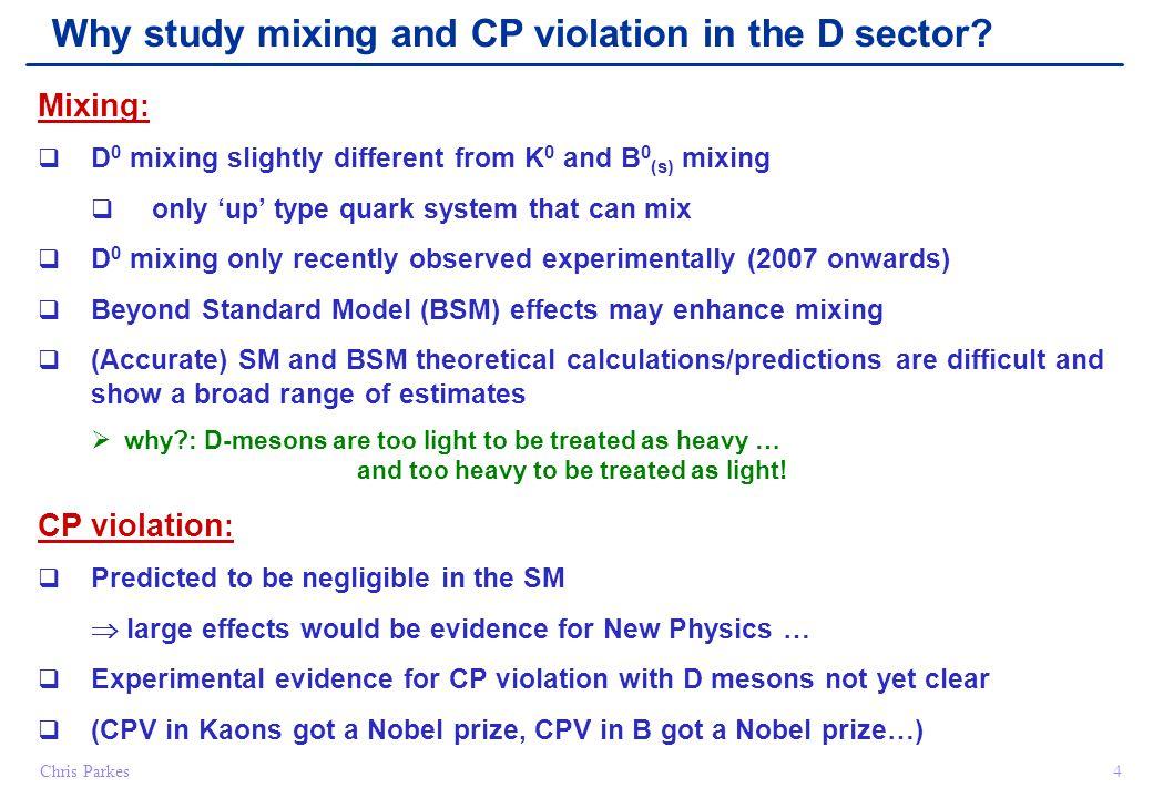 Oscillation & Decay 15 t=0t D0D0 D0D0 D0D0 D0D0 D0D0 D0D0 CP Violation A m A d Weak Phase ϕ