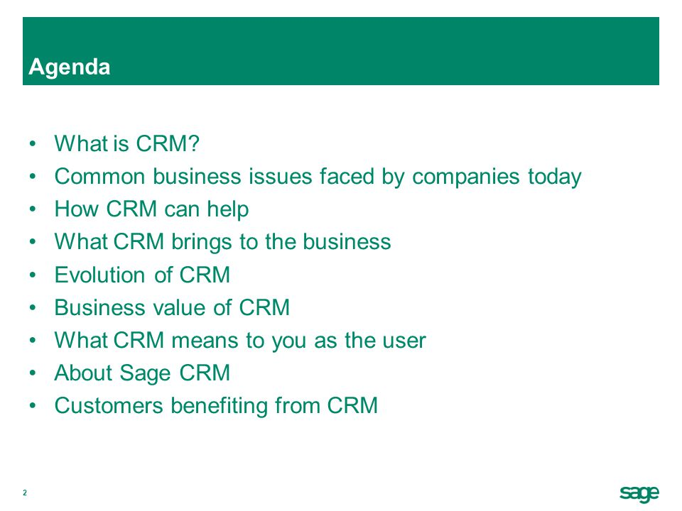 3 What is CRM.
