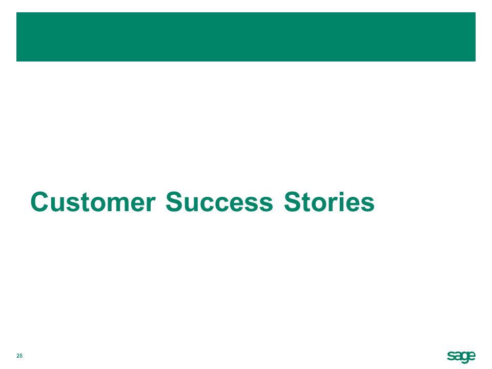 28 Customer Success Stories