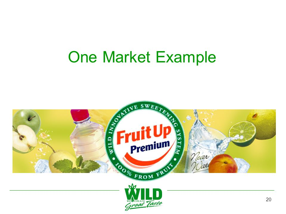 20 One Market Example