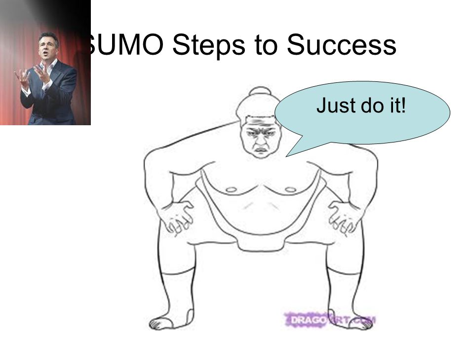 SUMO Steps to Success Just do it!