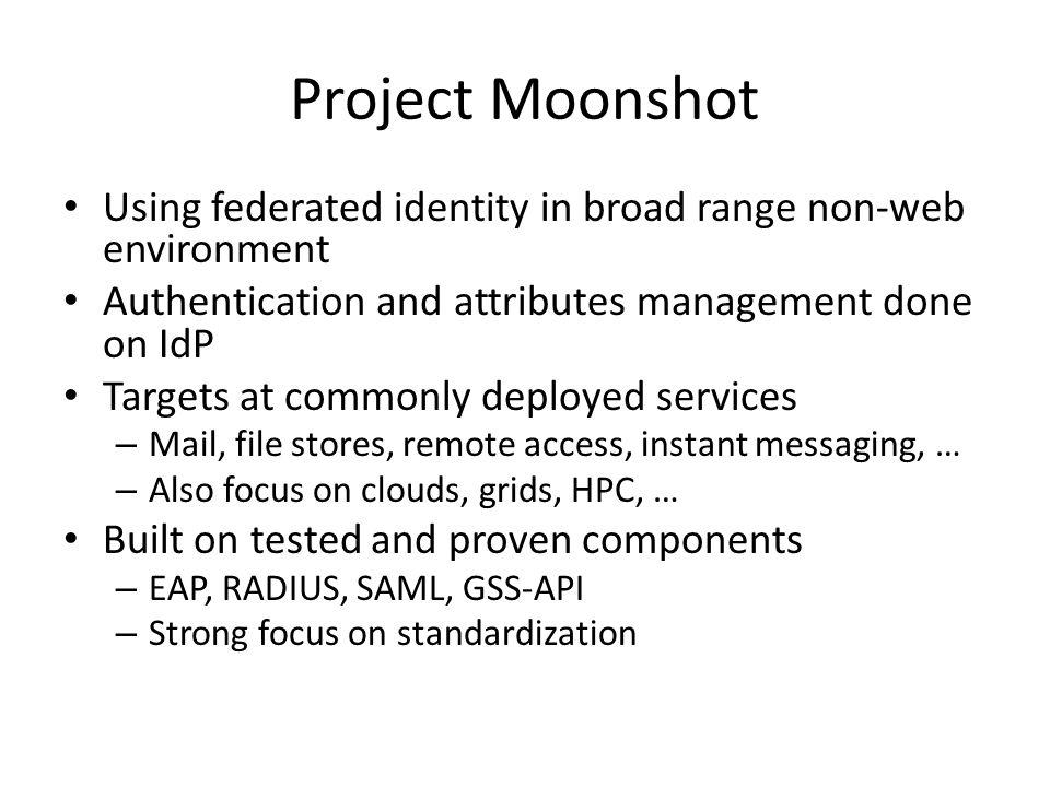 Moonshot Architecture
