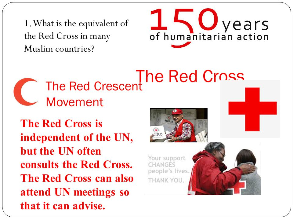 Role Play: imagine.1. Watch the images of the work of the Red Cross in Syria and make notes 1.