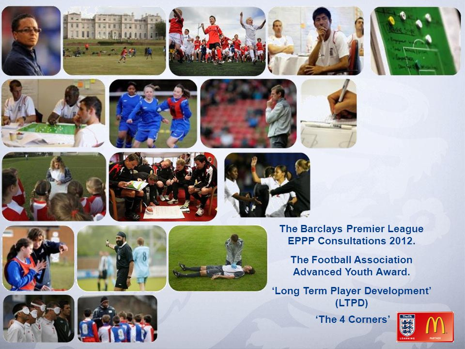 The Barclays Premier League EPPP Consultations 2012.