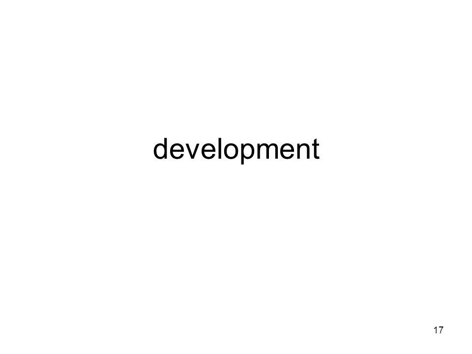 17 development