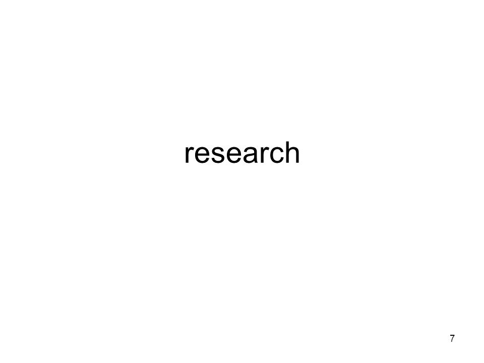 7 research
