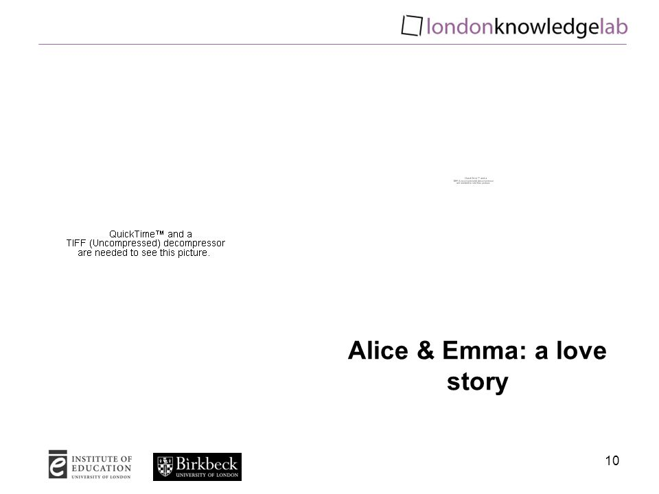 10 Alice & Emma: a love story