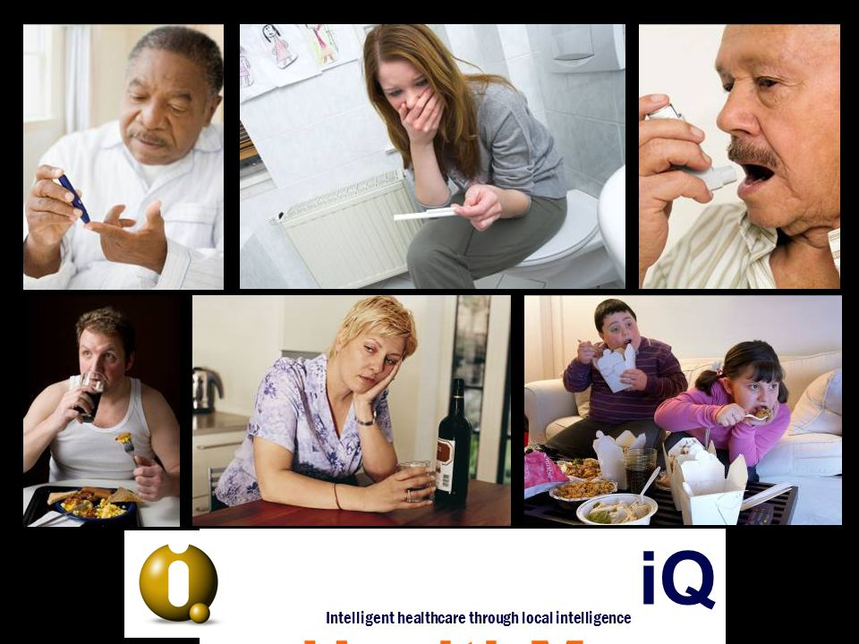 iQ HealthMaps Intelligent healthcare through local intelligence