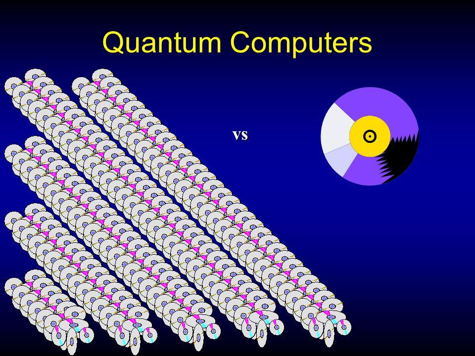 Quantum Computers vs