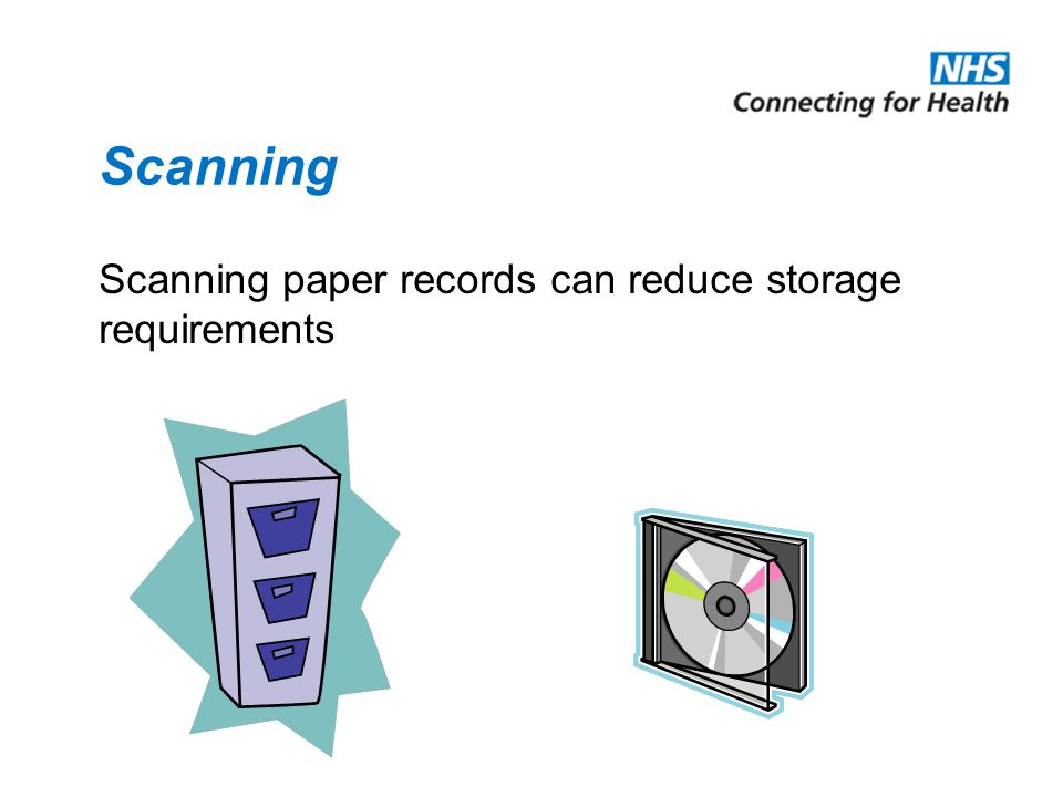 Record Maintenance Control record movement and location Storage areas should be clean and tidy Stores should be secure Secondary storage for non-current records Contingency/Business Continuity Plans