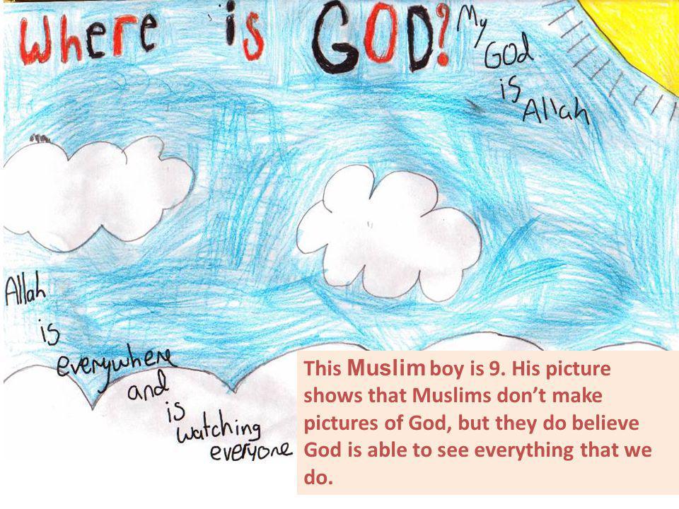 This Muslim boy is 9.