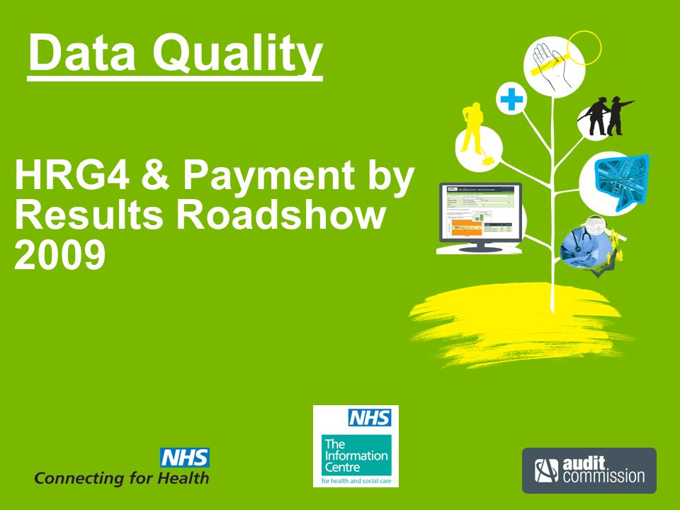 Data Quality HRG4 & Payment by Results Roadshow 2009