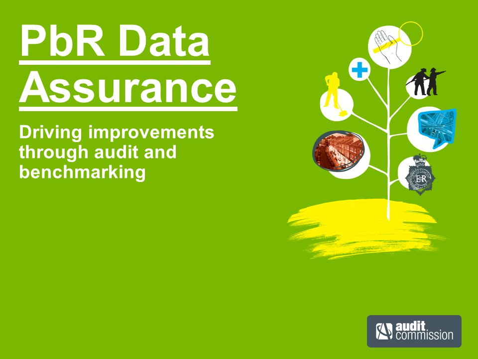 PbR Data Assurance Driving improvements through audit and benchmarking
