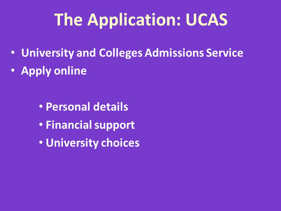 Offers will make reference to: grades or UCAS Tariff points for AS/A levels IB points – may specify required subjects & points Students must check entry requirements very carefully as part of preparation and research Students must also check GCSE requirements