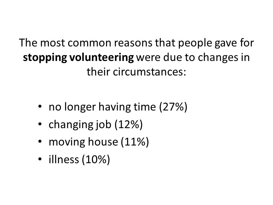 A lower proportion of people volunteer from lower income households