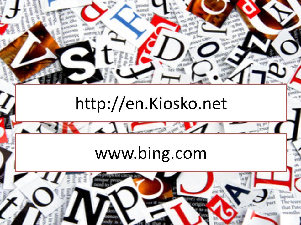 http://en.Kiosko.net www.bing.com
