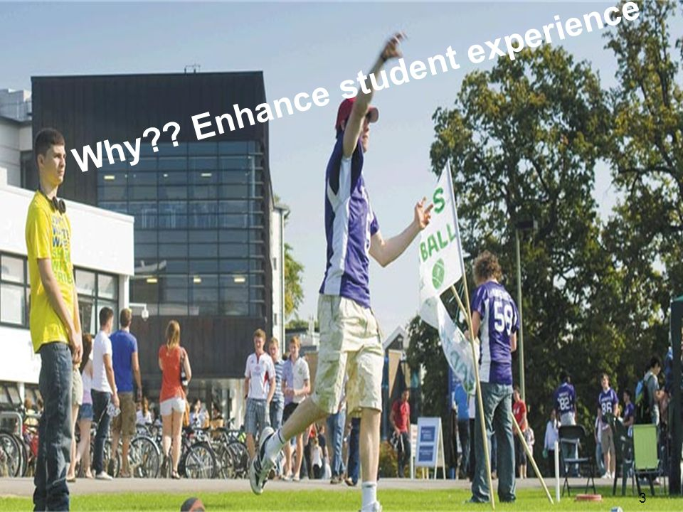 3 Why Enhance student experience