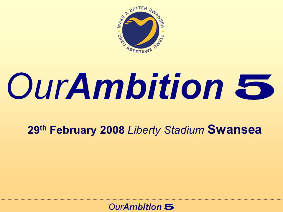 29 th February 2008 Liberty Stadium Swansea