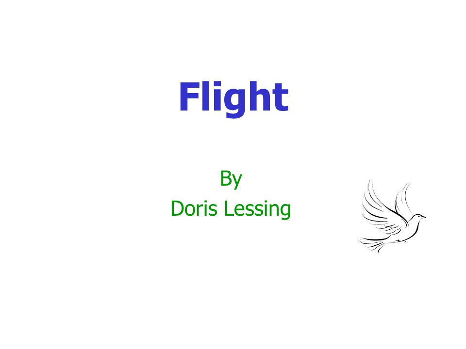 Author's Techniques Language – use of repetition Doris Lessing uses repetition in the story 1.to reinforce details of the scene (sunlight, the frangipani tree, the veranda, Lucy s sewing) 2.to identify people ( the postmaster s son and his daughter or the woman ).