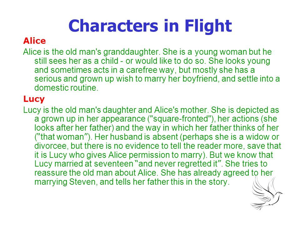 Author's technique Style, structure, narrative craft This story, though written in the third person, is told almost entirely from the old man s point of view.