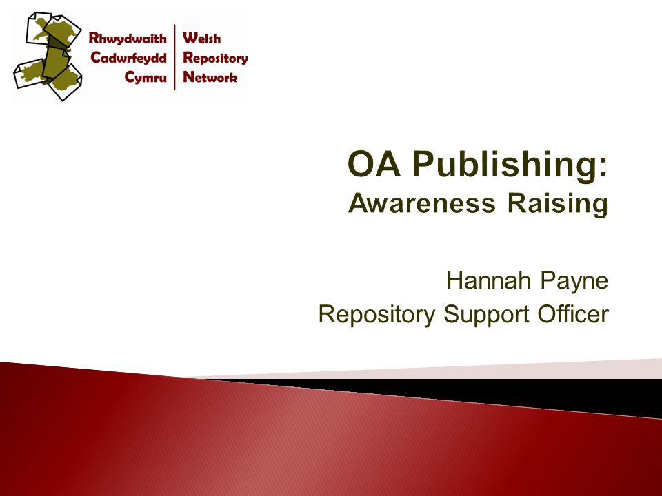 Hannah Payne Repository Support Officer