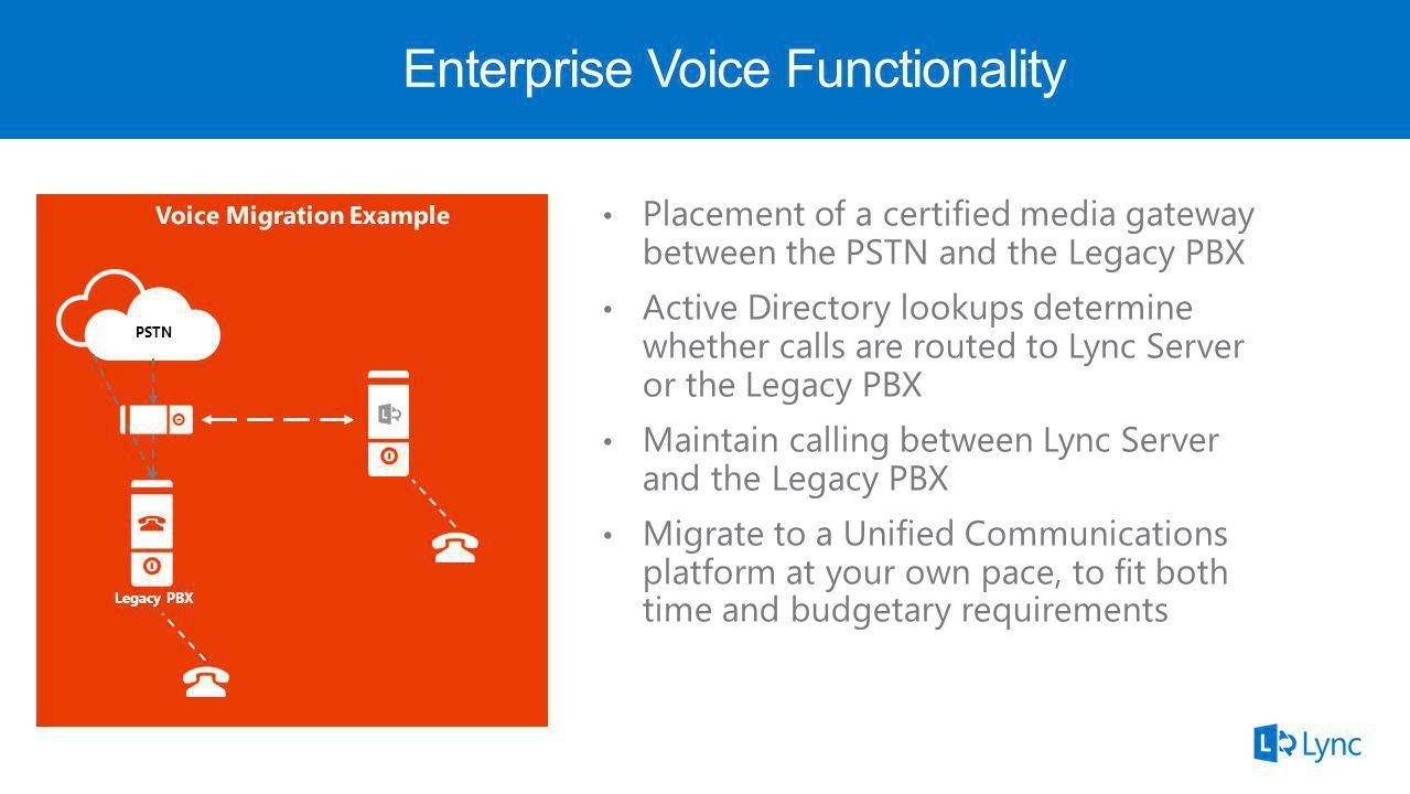 ! Legacy PBX PSTN