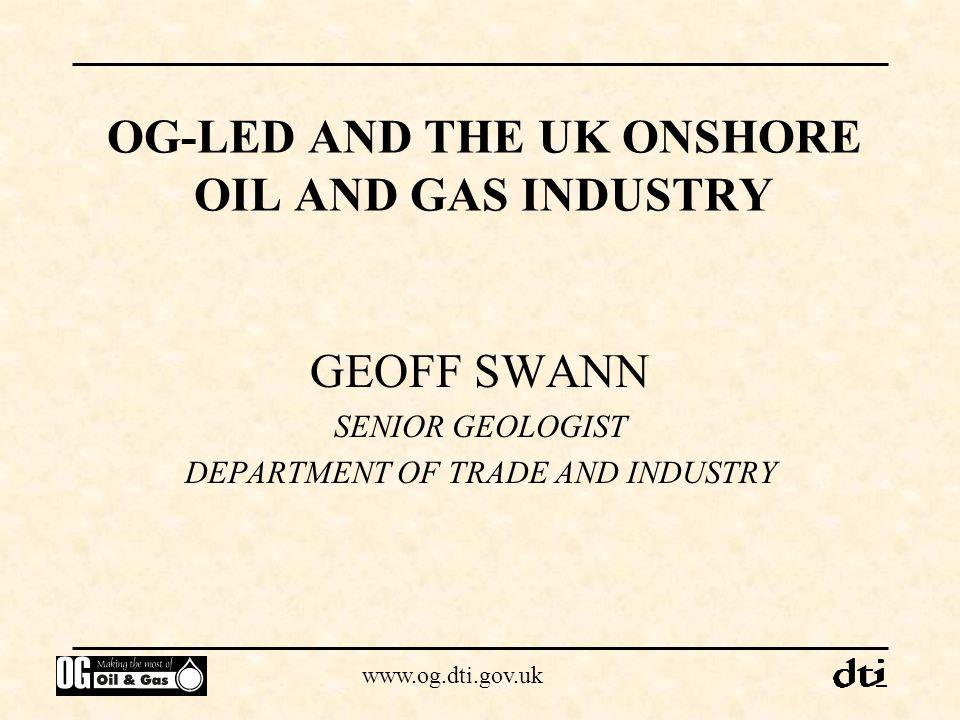 www.og.dti.gov.uk Onshore licensed areas