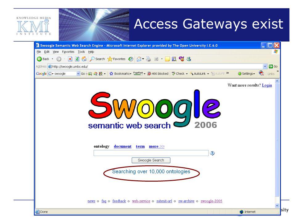Access Gateways exist