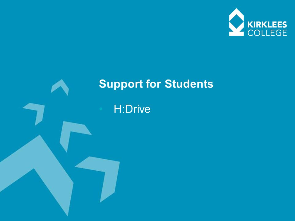 Support for Students H:Drive
