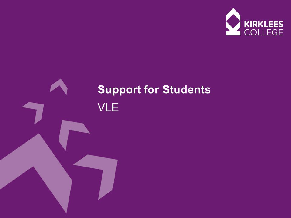 Support for Students VLE
