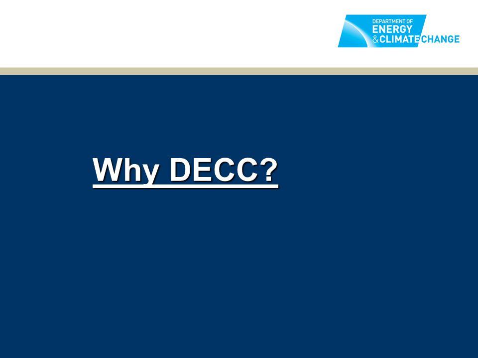 Why DECC?