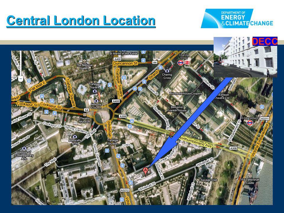 Central London Location DECC