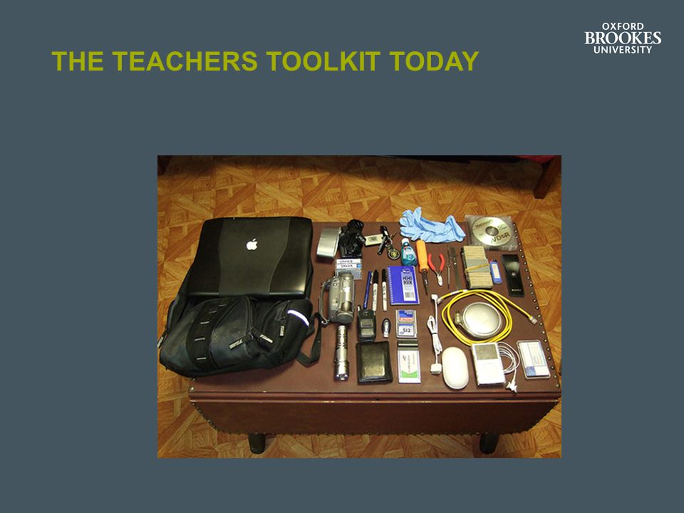 THE TEACHERS TOOLKIT TODAY