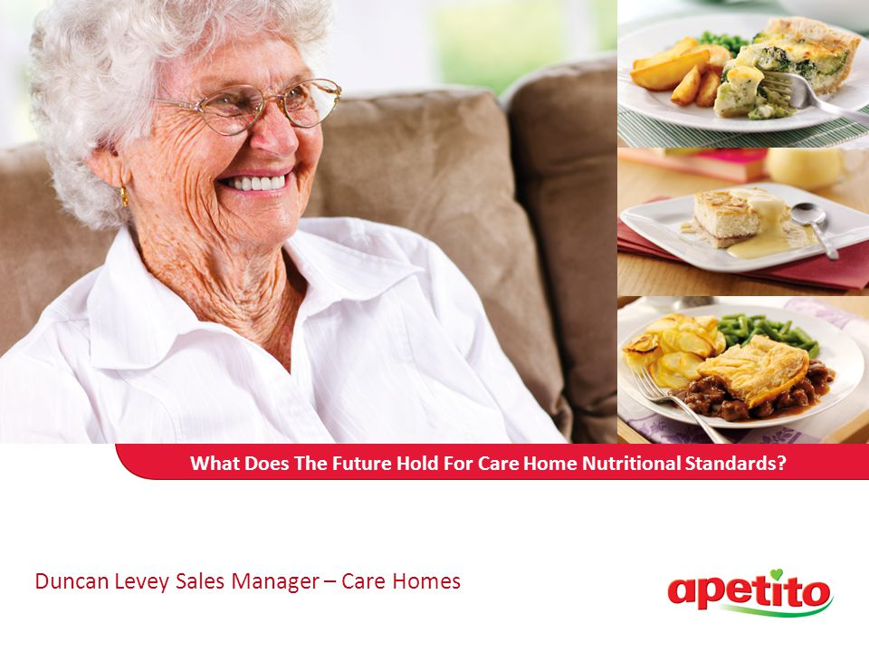 What Does The Future Hold For Care Home Nutritional Standards.