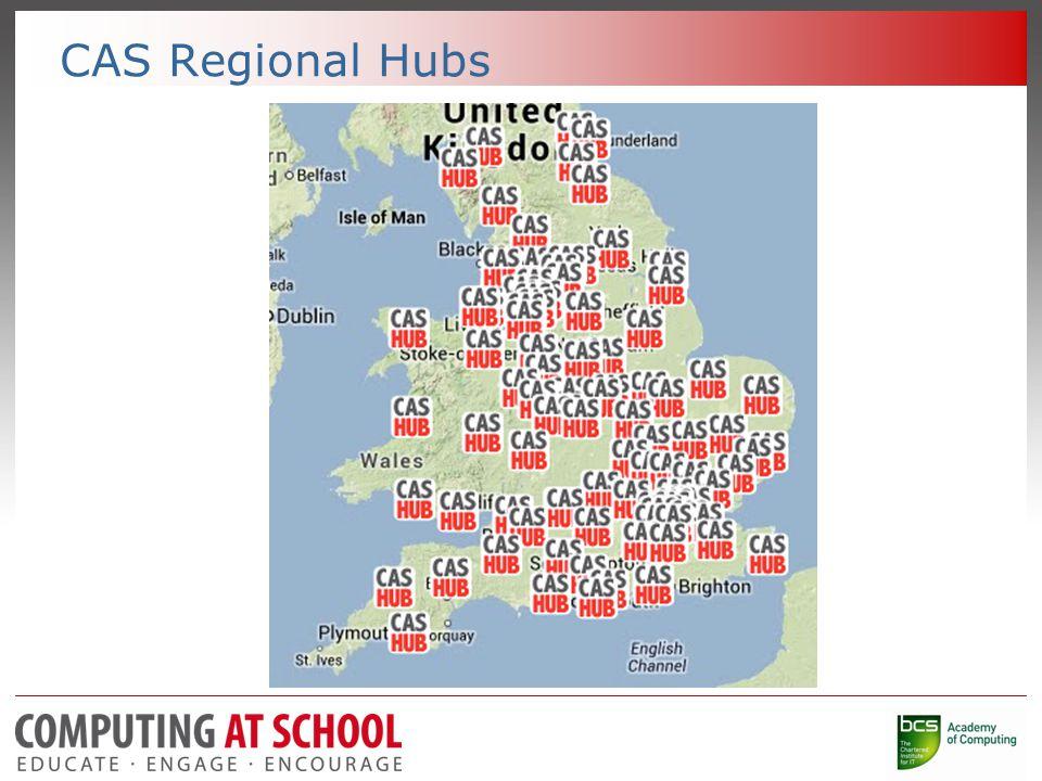 CAS Regional Hubs