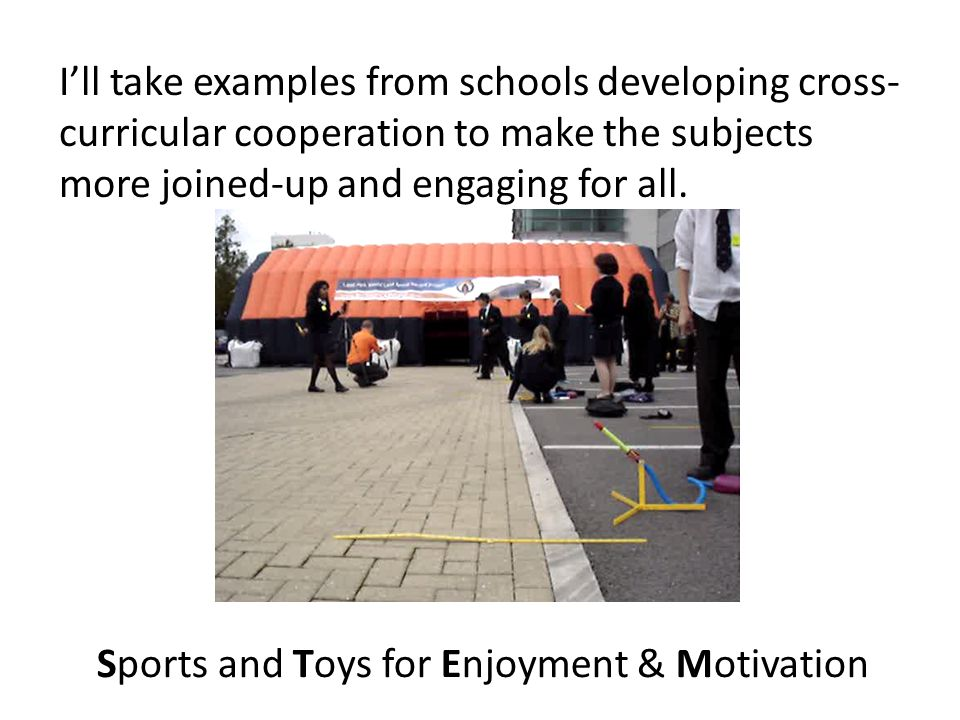 I'll take examples from schools developing cross- curricular cooperation to make the subjects more joined-up and engaging for all.