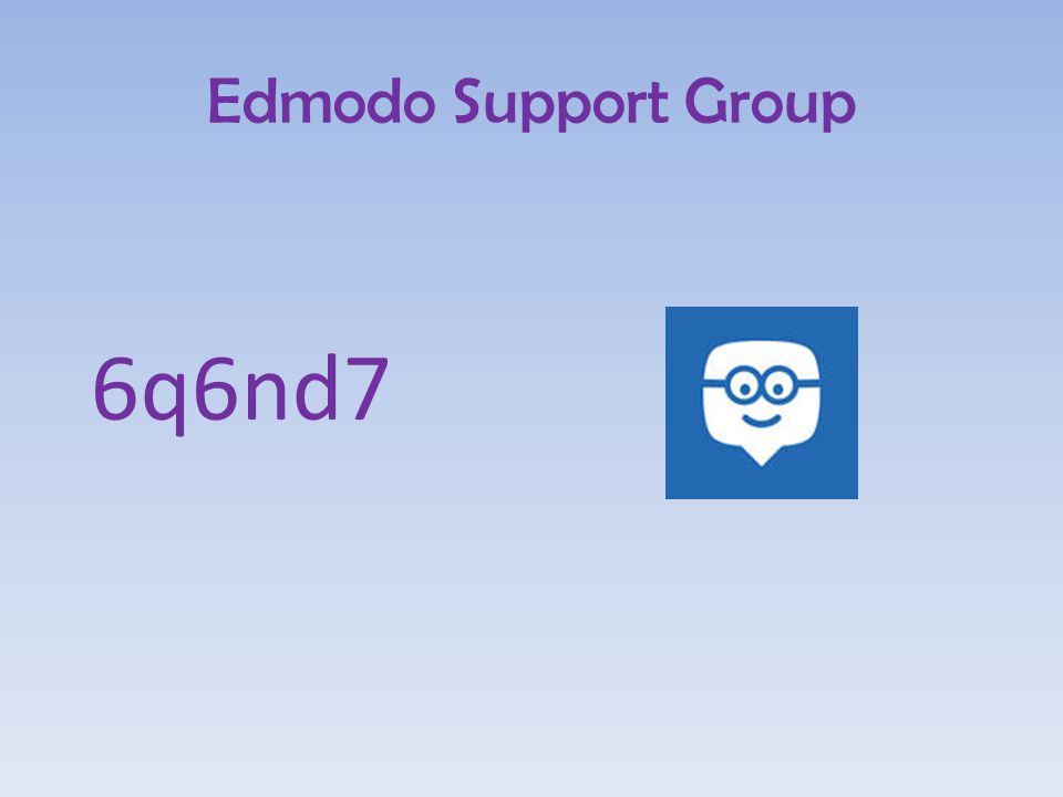 Edmodo Support Group 6q6nd7