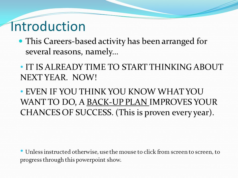 Let's Get Started… Adult Directions Careers Software The following pages will explain where to find, and how you can use Adult Directions Careers Software from the frontpage of Moodle.