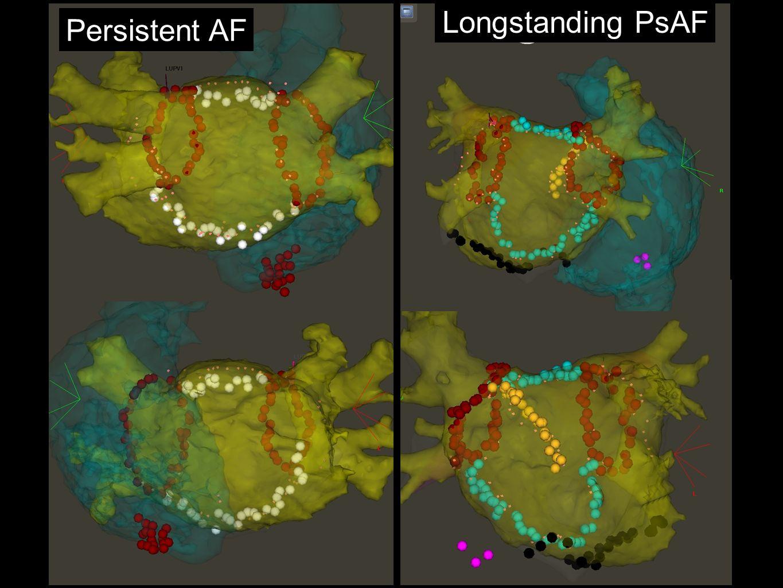 Persistent AF Longstanding PsAF