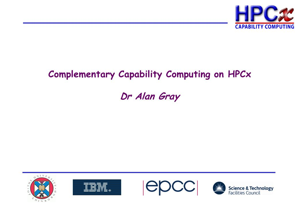 212 th November 2008HPCx User Group Meeting HPCx and HECToR: complementary services