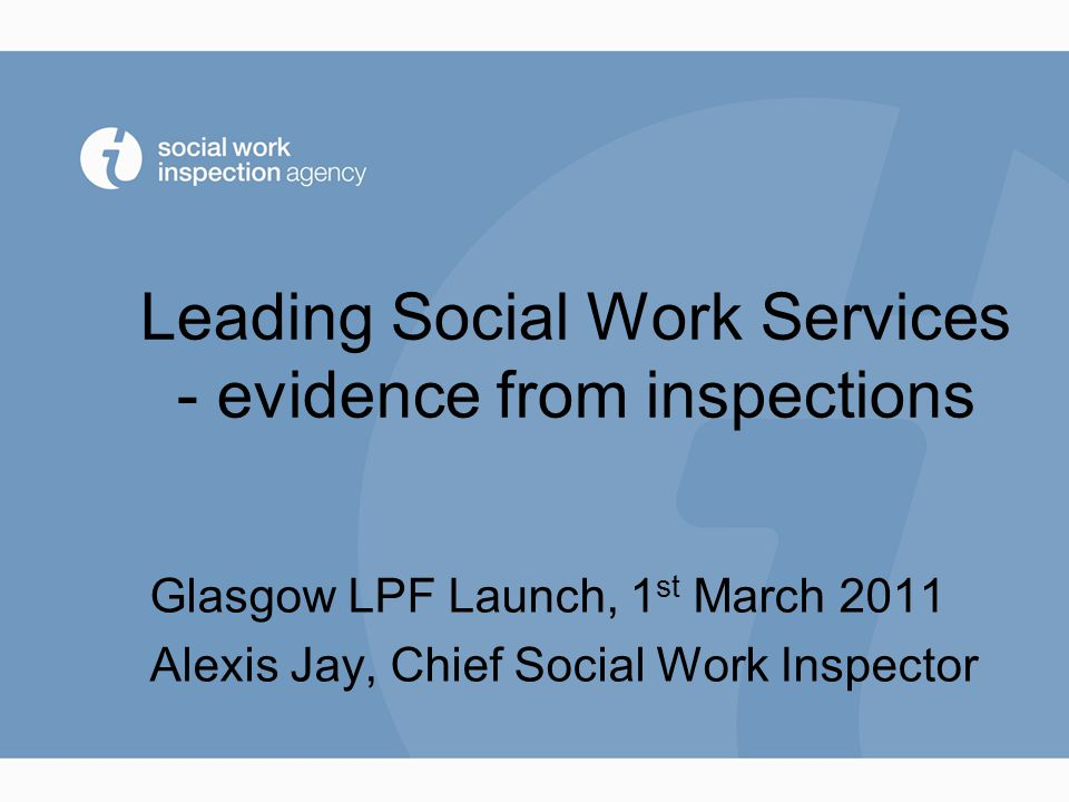 There is a clear vision for social work in this authority Range: 31% - 70%