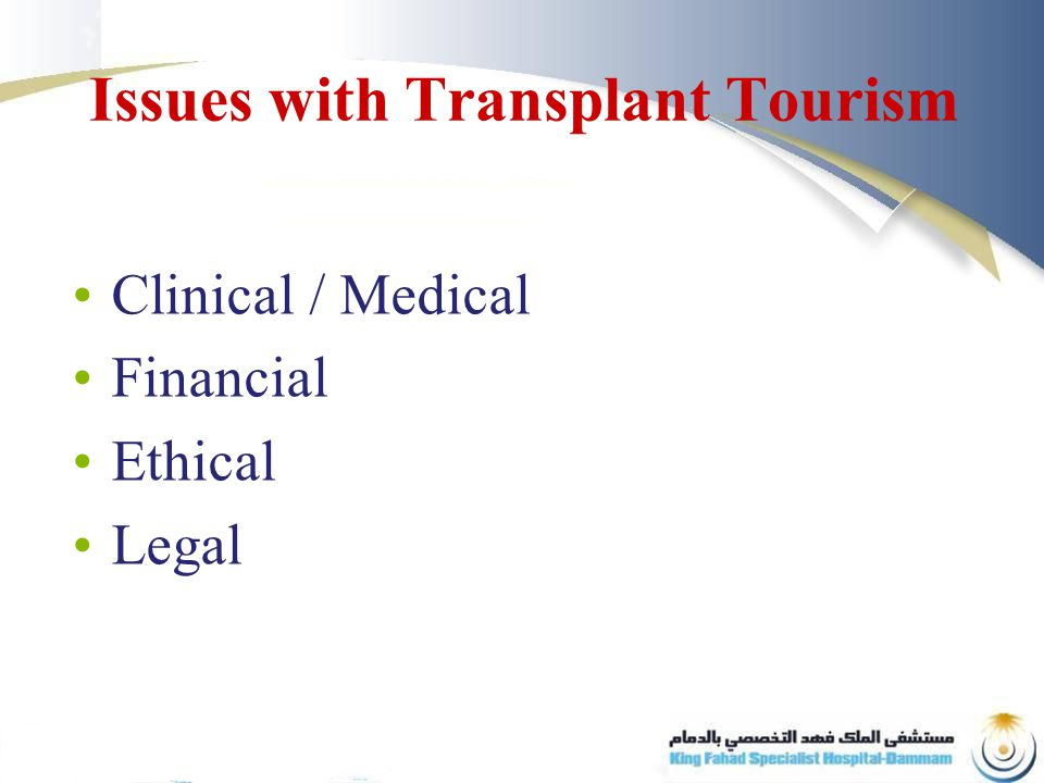In Gulf countries we need successful donor programs that look at all the options On a straightforward steps and changes we can make all the distinction for our patients DD Transplant - Conclusion