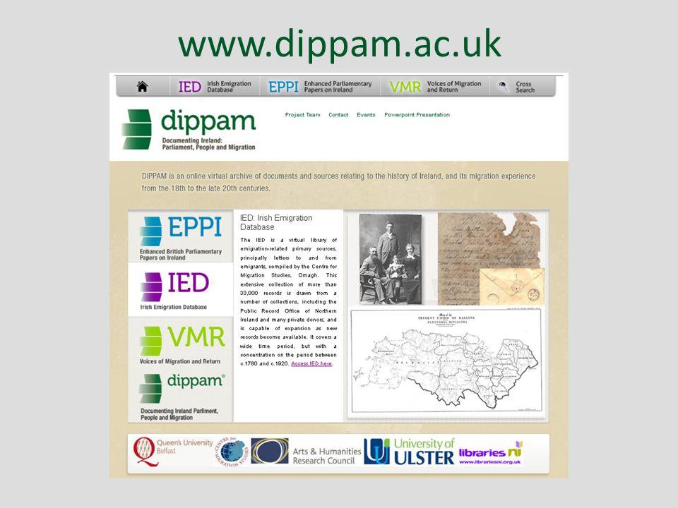 www.dippam.ac.uk