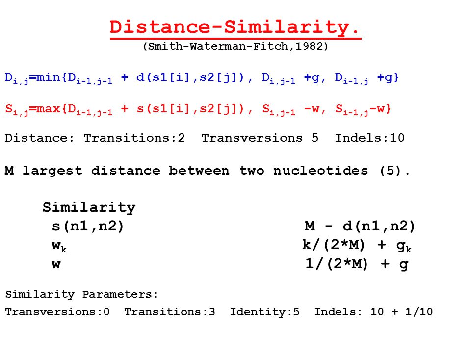 Distance-Similarity.