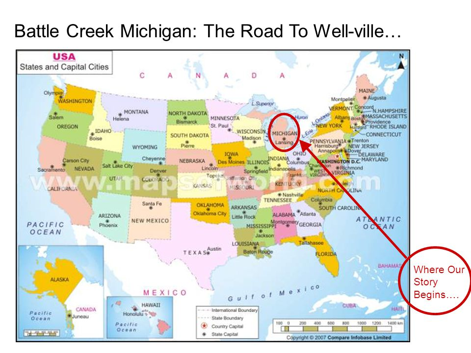 Battle Creek Michigan: The Road To Well-ville… Where Our Story Begins….