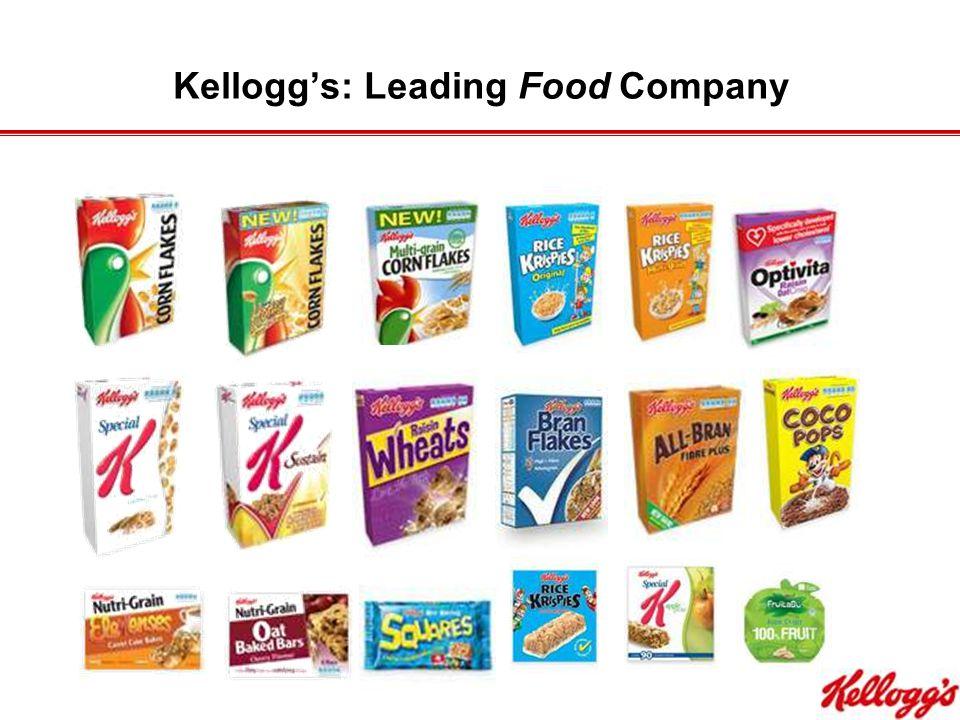 Kellogg's: Leading Food Company