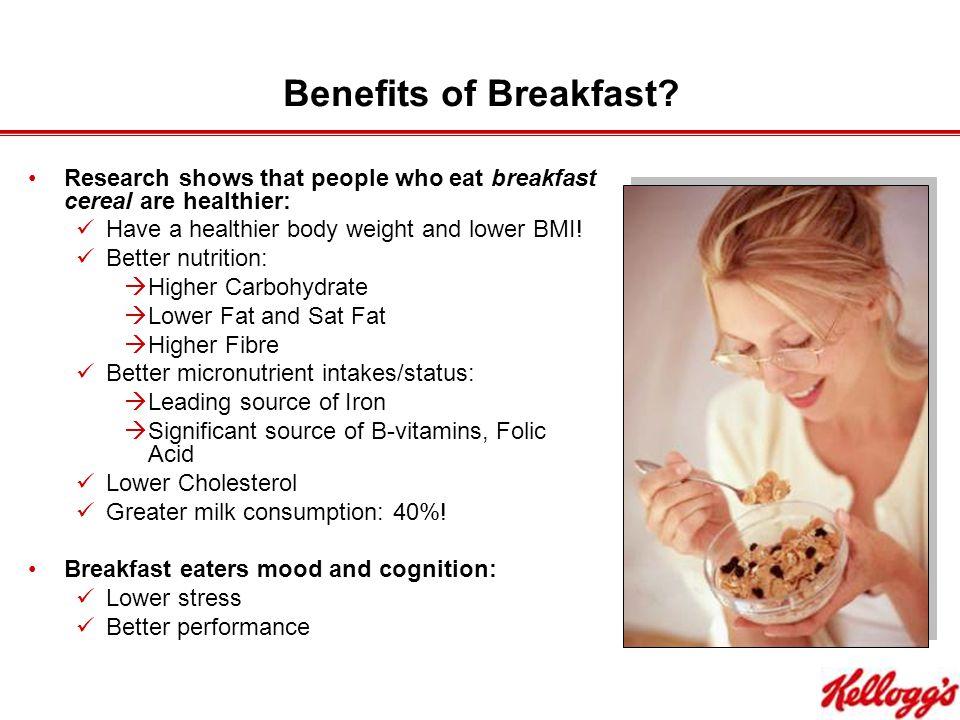Benefits of Breakfast.