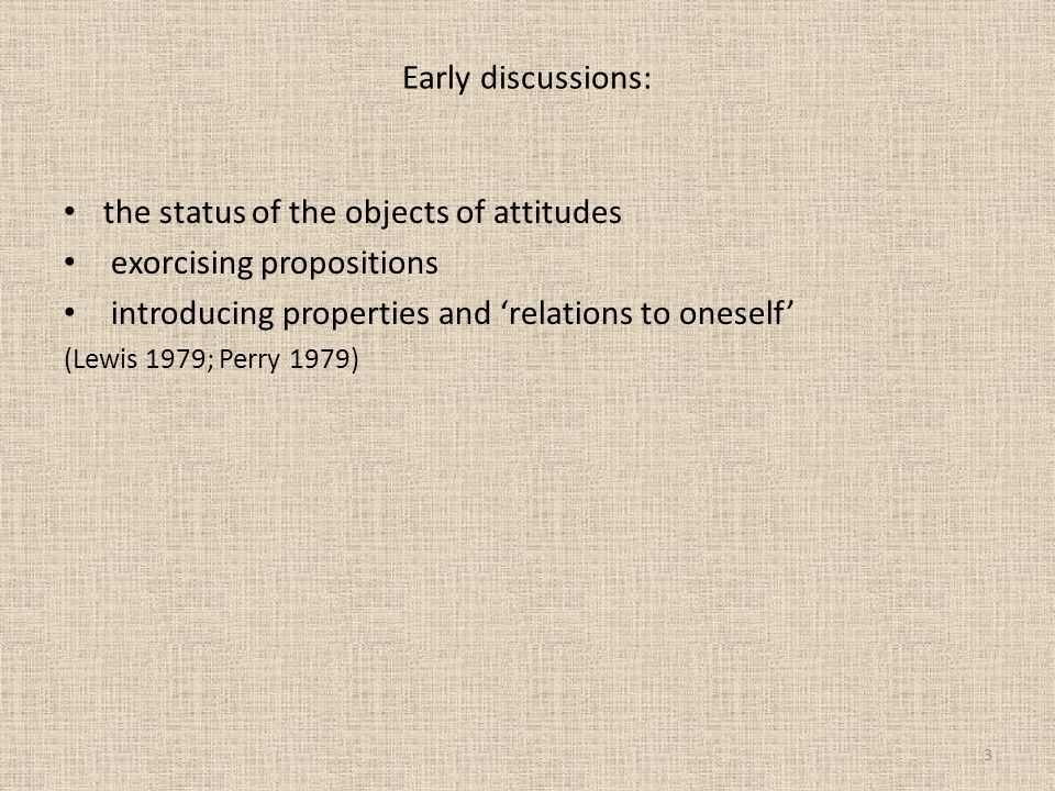 Percus, O.and U. Sauerland. 2003. 'On the LFs of attitude reports'.